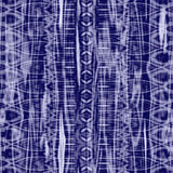 Blue batik Stock Photo