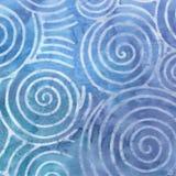Blue Batik Background Stock Images