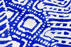 patterned fabric  background Stock Photo