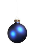 Blue bauble Stock Photos