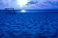 Blue Beach royalty free stock photography