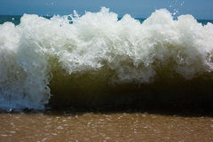 Blue Beach wave Royalty Free Stock Images