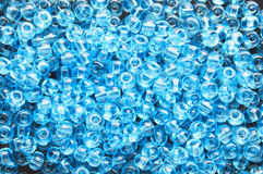 Blue beads Royalty Free Stock Image