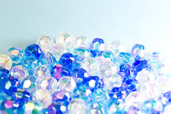 Blue beads Stock Photography