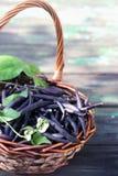 Blue beans Royalty Free Stock Photos