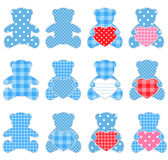 Blue bears Royalty Free Stock Photo