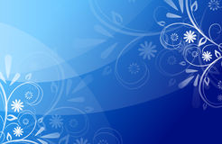 Blue beautiful abstract background Royalty Free Stock Photo