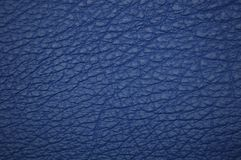 Blue beautiful leather texture as background royalty free stock image