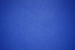 Blue beautiful leather texture as background. Close up vector illustration