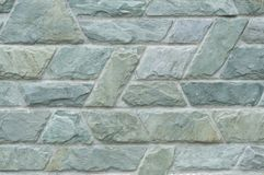 Blue beautiful stone wall texture Stock Photo