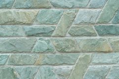 Blue beautiful stone wall texture Royalty Free Stock Images