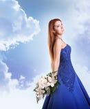 Blue beauty in sky Stock Photos