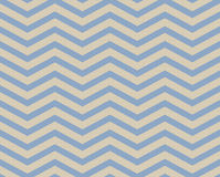 Blue and Beige Chevron Zigzag Textured Fabric Pattern Background Stock Image