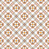Blue and beige fabric texture diagonal pattern seamless  illustration Royalty Free Stock Image