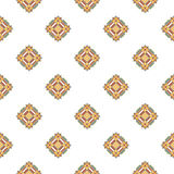 Blue and beige fabric texture diagonal pattern seamless  illustration Royalty Free Stock Photography