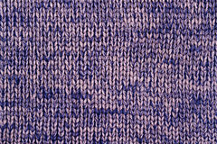 Blue and beige knitted background Royalty Free Stock Image