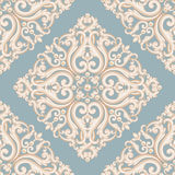 Blue and beige pastel texture with pearls. Stock Images
