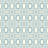 Blue and beige vintage pattern Royalty Free Stock Photo