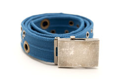 Blue belt Stock Images
