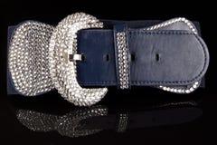 Blue belt Royalty Free Stock Photo