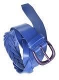 Blue belt Stock Images