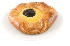 Blue berry danish pie Royalty Free Stock Images