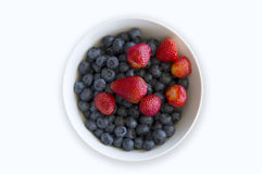 Blue Berry Fruit Bowl Royalty Free Stock Photo