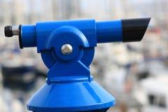 blue betalat teleskop arkivfoton