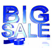 Blue big sale Stock Images