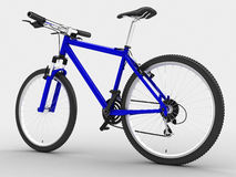Blue bike Stock Photography