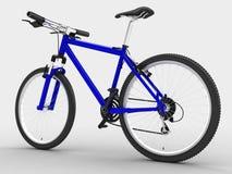 Blue bike Stock Photography