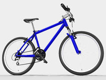 Blue bike Royalty Free Stock Photos