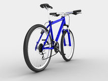Blue bike Royalty Free Stock Photography