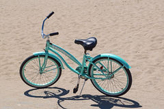 Blue Bike Royalty Free Stock Image