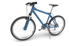 Blue bike for men Royalty Free Stock Photography