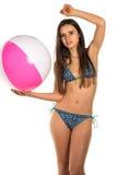 Blue bikini Royalty Free Stock Photography