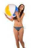 Blue bikini Royalty Free Stock Photos