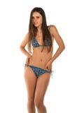 Blue bikini Stock Photo