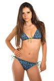 Blue bikini Royalty Free Stock Photo
