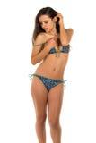 Blue bikini Royalty Free Stock Images