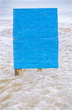 Blue billboard Royalty Free Stock Photo