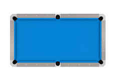 Blue Billiard Table Stock Image