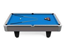 Blue Billiard Table Stock Photos