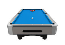 Blue Billiard Table Royalty Free Stock Image