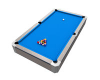 Blue Billiard Table Royalty Free Stock Images