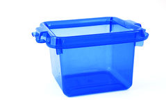 Blue bin Royalty Free Stock Images