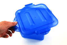 Blue bin Stock Photos
