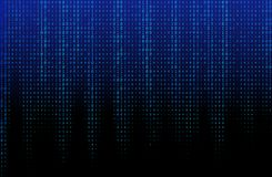Blue Binary Code Vector Texture stock illustration