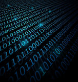 Binary Data background Royalty Free Stock Images