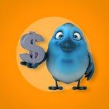 Blue bird Royalty Free Stock Photos